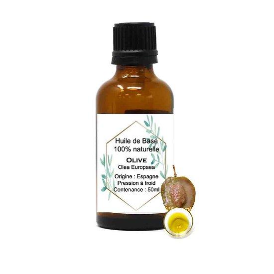 Huile de base Olive 50ml propriété antibactérienne et hydratante