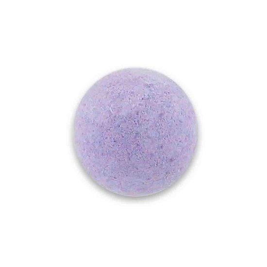 Boule de bain Violette 40g à l'huile de vigne et parfum de Grasse