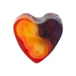 Savon glycérine coeur Fruit de la Passion 85g peau lisse, hydratée