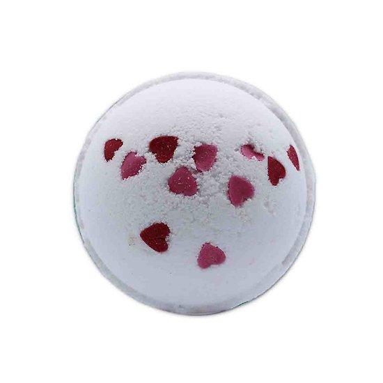 Boule de bain Coeur d'Amour Fleurs Sauvages 180g bain amusant