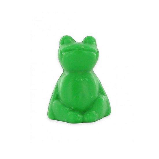 Savon fantaisie Grenouille parfumé Thé Vert 25g coloris vert soap