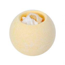 Boule de bain Citron 180g bain relaxant beurre karité et cacao