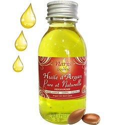 Huile d'Argan Pure et Naturelle désodorisée en 100 ml