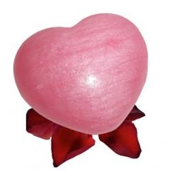 Savon Coeur de la Rose en 32g doux pour la peau & délicatement parfumé