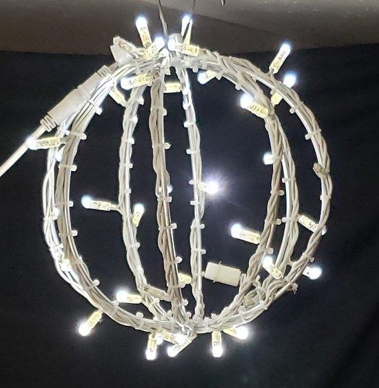 Sphère Blanc Pétillant Blanc (50cm)