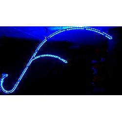 Corne de Cerf Bleu (2.20x0.65cm)