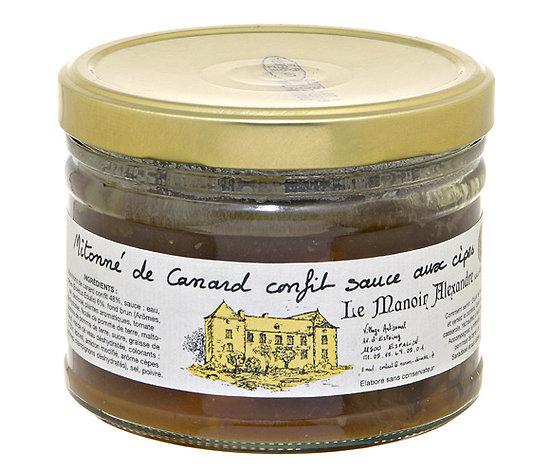 Mitonné de Canard confit Sauce aux Cèpes 350g