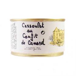 Cassoulet au confit de canard 420 gr