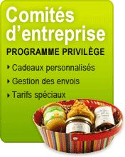 Comité d'entreprise : devis gratuit, cadeaux personnalisés, gestion des envois