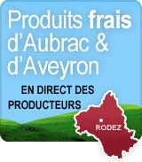 Produits frais d'Aubrac et d'Aveyron