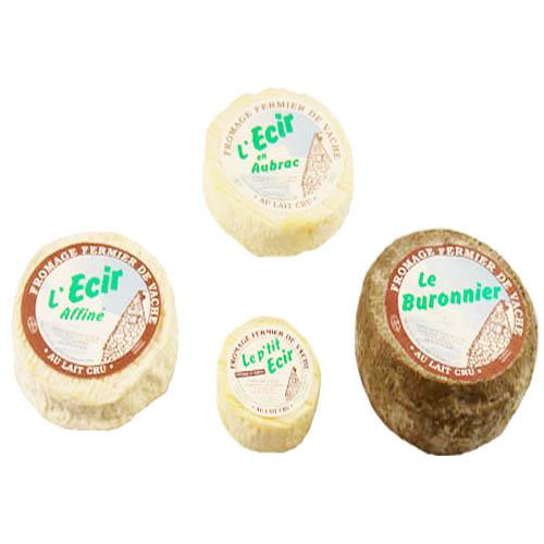 Plateau de fromages Ecir en Aubrac