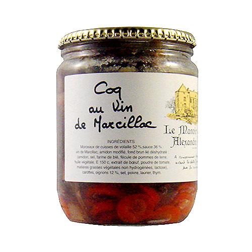 Coq au vin de Marcillac 650 gr