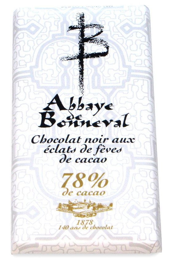 Tablettes chocolat noir 78%