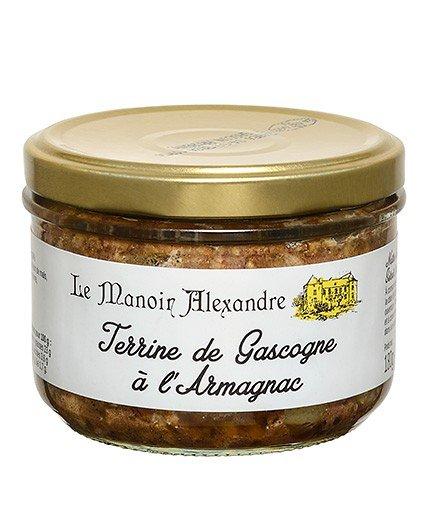 Terrine de Gascogne à l'Armagnac