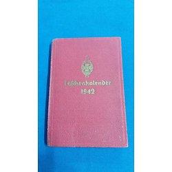 Calendrier de poche Allemand 1942