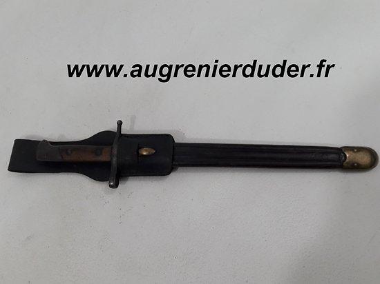 Baionnette fusil Carcano 1891 Italie wwI