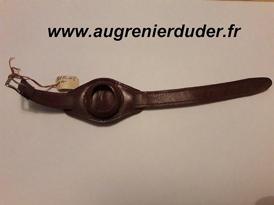 Bracelet porte montre poilu France wwI n1