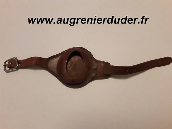 Bracelet porte montre poilu France wwI n2