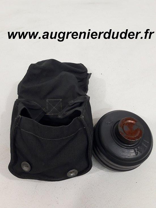 Housse et cartouche supplémentaire masque à gaz Allemagne wwII