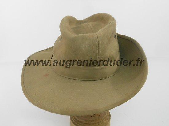 Chapeau de brousse modèle 1949 Indochine Algérie