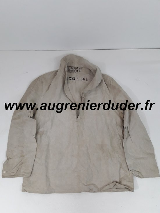 Veste bourgeron marine France wwII