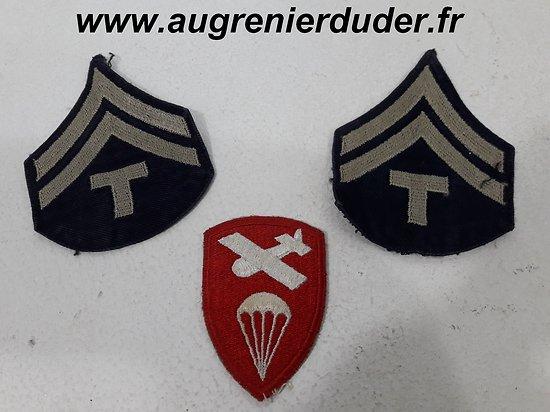"Ensemble tissu "" Airborne Command "" US wwII"
