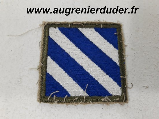 Patch 3 th infantry division US wwII