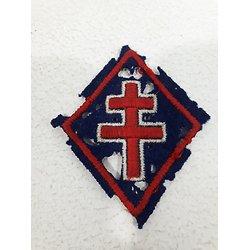 Insigne tissu 1ère DFL France 1944