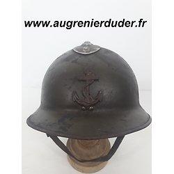 Casque modèle 1926 Infanterie coloniale / marine France wwII