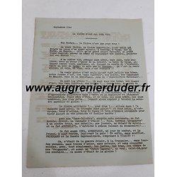 Tract FFI résistance 1944