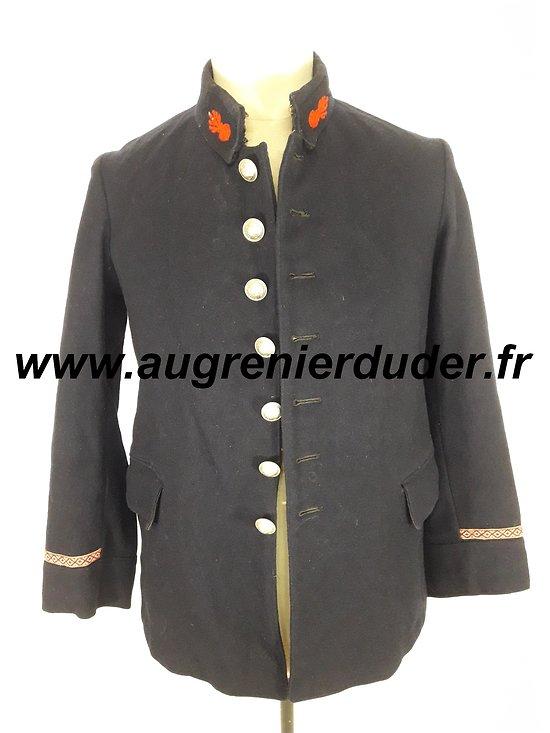 Veste pompier 1900 /1914 France