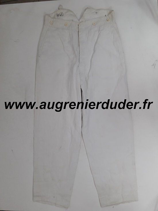 Pantalon de travail / corvée France wwI