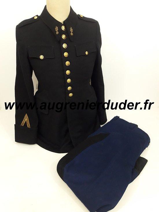 Uniforme GRM Garde Républicaine Mobile Gendarmerie 1930
