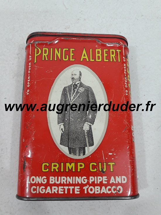 Boite tabac Prince Albert US wwII