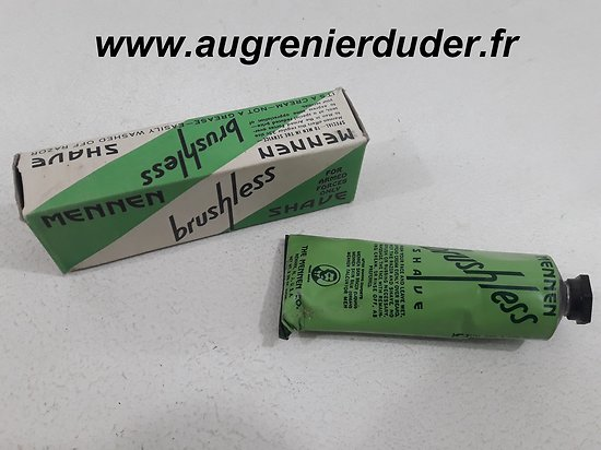 Mousse a raser Mennen US wwII