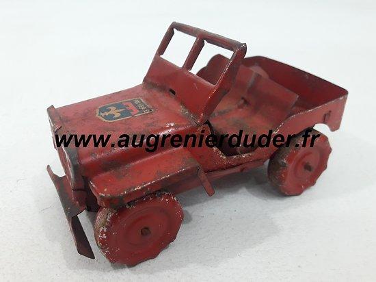 Jeep jouet tôle US wwII