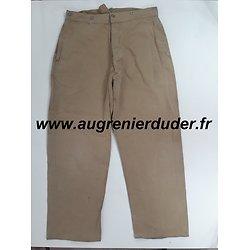 Pantalon infanterie coloniale 1921/35 France wwII