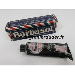 Mousse a raser / shaving cream Barbasol US wwII