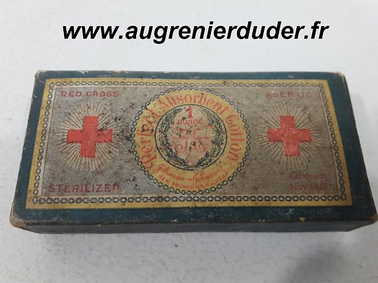 Pansement first aid US wwI