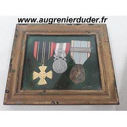 Cadre médailles France wwII