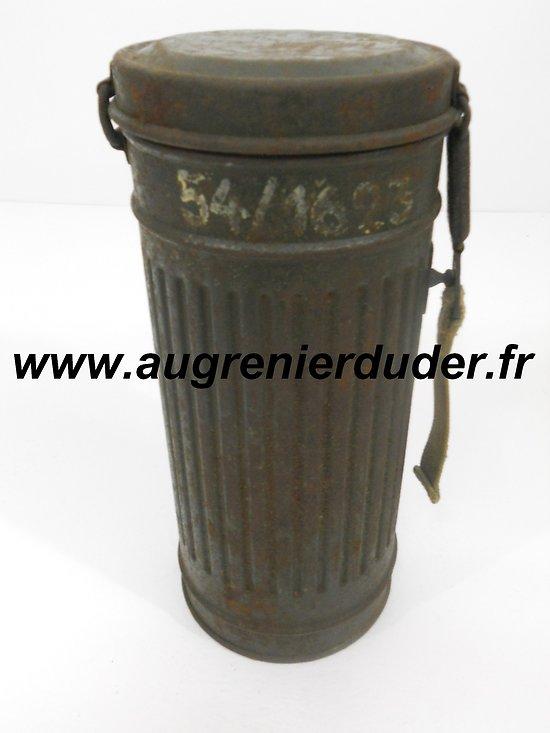 Boitier masque à gaz Allemagne wwII