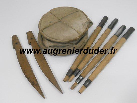 lot de matériels campement as de carreau France wwI / wwII