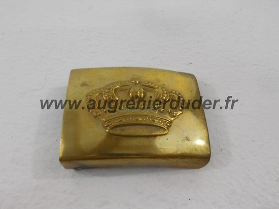 Boucle Hesse mod95 Allemagne wwI