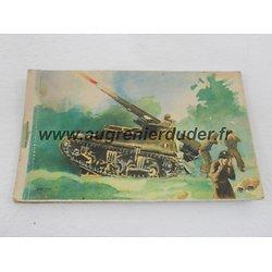 carnet de propagande cartes postales 1ère Armée France wwII