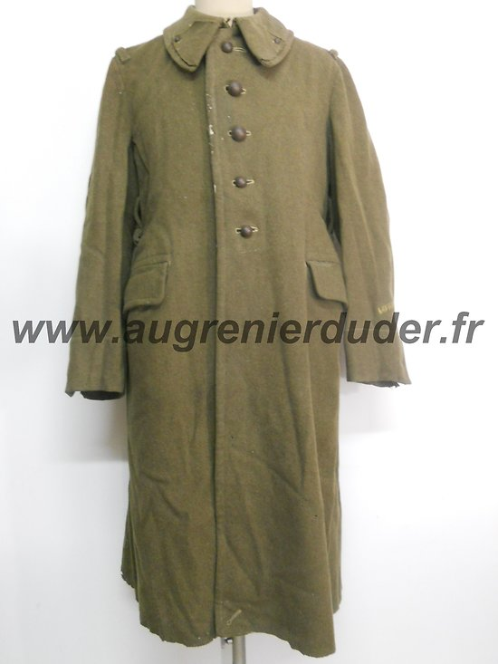 Capote modèle 1938 France wwII