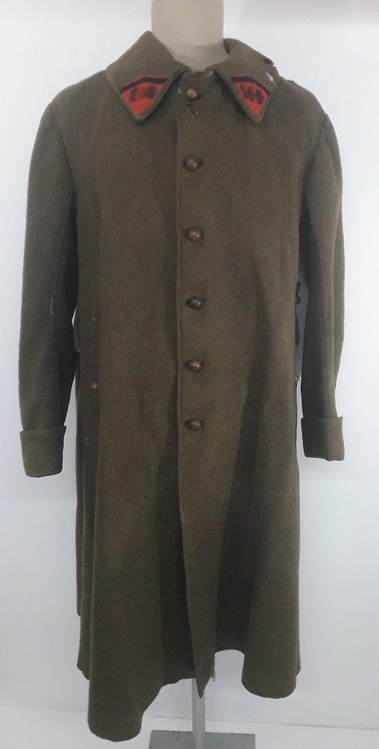 Capote / manteau troupe montée KGF France 1940
