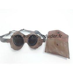 Lunettes anti poussière motocycliste Allemagne wwII