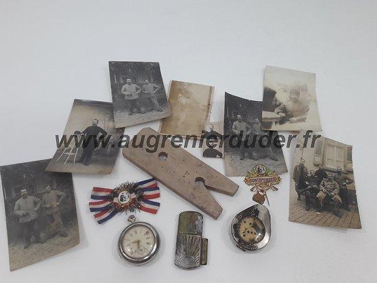 Ensemble artilleur prisonnier à Verdun France wwI