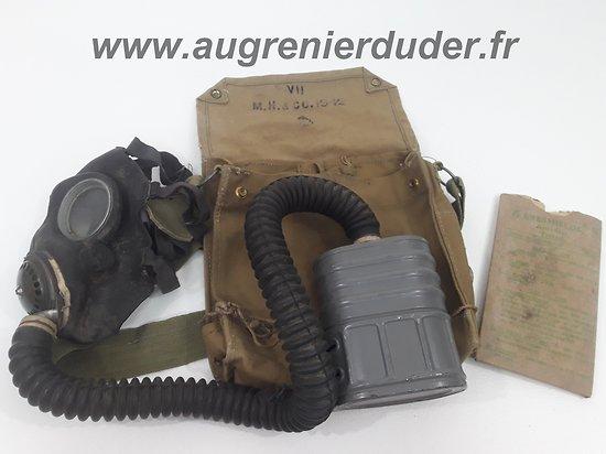 Masque à gaz Anglais 1942/1943
