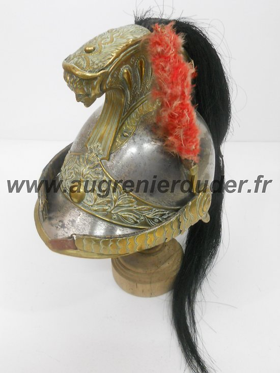 Casque de sous-officier de Dragon cavalerie ww1